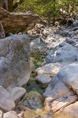 picture of samaria  - Samaria Gorge tourist attraction hike - JPG