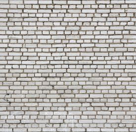 image of arriere-plan  - Aged white brick wall seamless texture - JPG