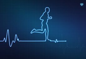 stock photo of beating-heart  - Runner - JPG