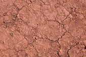 red dirt. red earth. maui Hawaii red dirt. iron rich earth on the island of maui Hawaii.  volcanic c poster
