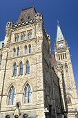 Architecture Of Canada'S Parliament Building poster
