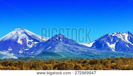 The Avachinsky And Kozelsky Volcanoes