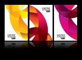 foto of letterhead  - vector background set EPS10 - JPG