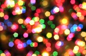 Abstract, Background, Blue, Spot, Blurred, Bokeh, Bright, Holiday, Christmas, Color, Colorful, Decor poster