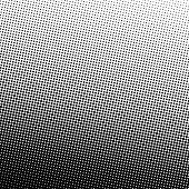 Halftone Circle Background, Abstract Dotted Background, Dots On Gray Background, Halftone Effect, Co poster