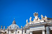 Vatican City With Cupola poster