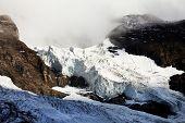 Постер, плакат: Eiger ледник Бернер Оберланд Швейцария наследие ЮНЕСКО
