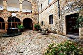 foto of salvatore  - Architectural detail in Montalcino - JPG