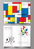The Minimal Vector Layouts. Modern Creative Covers Design Templates For Trifold Brochure Or Flyer. A poster
