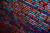 Software Developer Programming Code On Computer. Abstract Computer Script Source Code poster