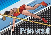 foto of pole-vault  - Pole vault - JPG