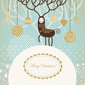 stock photo of christmas cards  - Christmas card - JPG