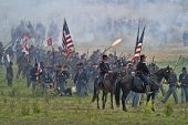 SHARPSBURG, MARYLAND - SEPTEMBER 16: The battlefield at the 150th anniversary of the civil war battl