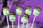 picture of frankenstein  - Frankenstein cake pops - JPG