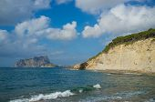 pic of costa blanca  - Secluded bays and small beaches near Calpe Costa Blanca Spain - JPG