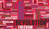 stock photo of revolt  - Revolution in Political or Technical Concept Art - JPG