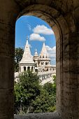 eurtopa, hungary, budapest, fisherman's bastion. one of the landmarks of the city. poster