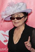 Yoko Ono at the 2012 MusiCares Person Of The Year honoring Paul McCartney, Los Angeles Convention Ce