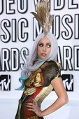 Lady Gaga at the 2010 MTV Video Music Awards, Nokia Theatre L.A. LIVE, Los Angeles, CA. 08-12-10