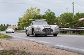 Mercedes Benz 300 Sl W194 In Rally Mille Miglia 2013