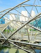 picture of duplex  - The Helix Bridge in Singapore - JPG