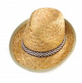 stock photo of bareback  - hat isolated on white background - JPG
