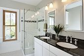Bright White Remodel Bathroom