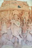 picture of lord krishna  - Ancient stone curved sculptures of Hindu God Lord Krishna - JPG