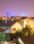 foto of luka  - Banja Luka at night - JPG