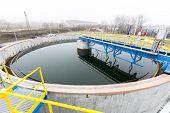 stock photo of defecate  - Rainwater treatment plant  - JPG