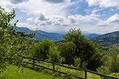 picture of naturel  - Safety fence in the Pyrenees in Boussenac in France - JPG