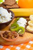stock photo of curd  - Healthy eating - JPG
