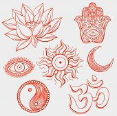 foto of hamsa  - Spiritual symbols - JPG