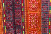 picture of hmong  - Asian carpet pattern - JPG