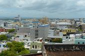 picture of san juan puerto rico  - Old San Juan City Skyline - JPG