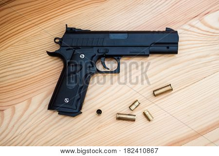 Gun On The Floor Crime