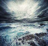 Постер, плакат: Океан шторм