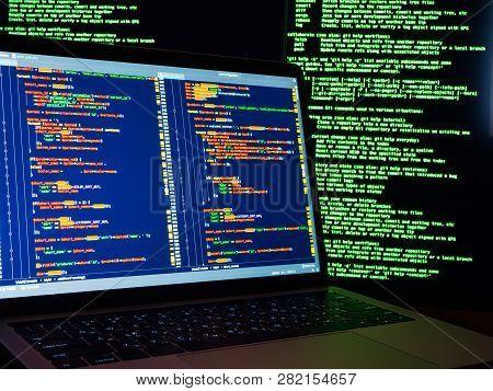 Hacker Scanning Online Passwords Database
