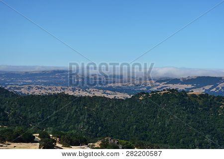 Mountain Landscape In Mount Diablo