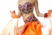 image of belly-dance  - Close - JPG