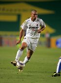 BARCELONA - SEPT 18: Brazilian player Ronaldo of Real Madrid in action during the match between Espa