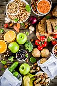 Good Carbohydrate Fiber Rich Food poster