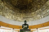 foto of por  - Beautiful jade Buddha statue at Dhammamongkol temple of Thailand by Luang - JPG