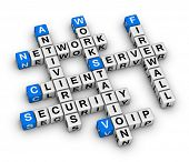 picture of voip  - client server crossword - JPG