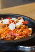 Spicy Stir-fried Pork With Vegetables poster