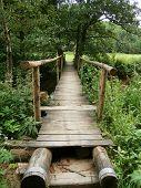 foto of shaky  - Bridge in Balinske valley at Big Mezir - JPG