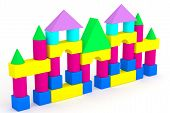 stock photo of cylinder pyramid  - illustration children - JPG