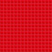 picture of tetrahedron  - seamless texture composed of tetrahedral mosaic with red highlights - JPG