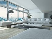 picture of couch  - Modern Living Room Design - JPG