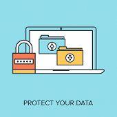 Постер, плакат: Data Protection